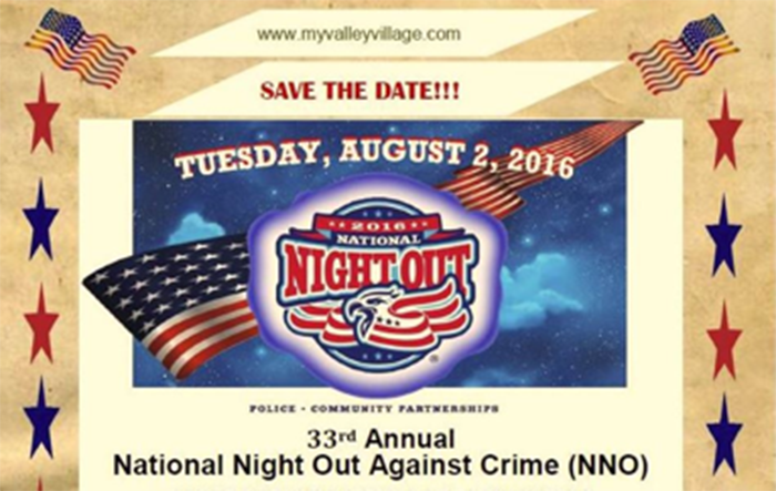 2016 National Night Out at Valley Village Park