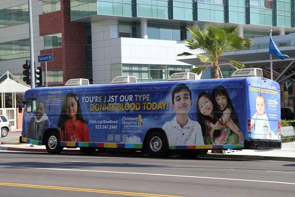 NOVEMBER 9th–Children's Hospital Los Angeles – Valley Village Blood Drive
